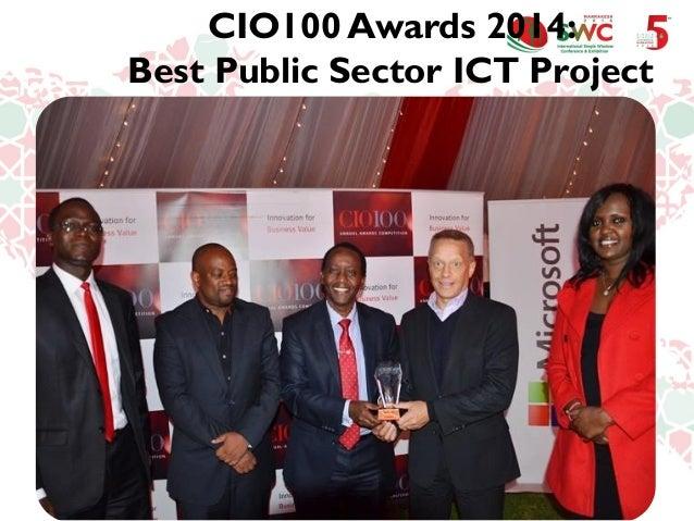 CIO100 Awards 2014: Best Public Sector ICT Project
