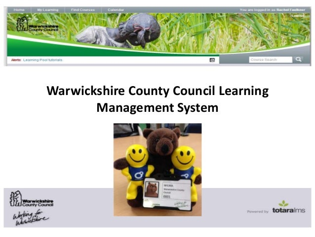 Warwickshire County Council Learning Management System