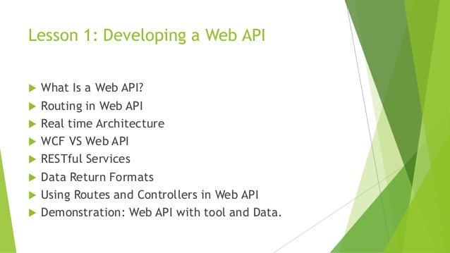 Implementation web api