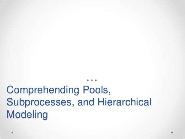 comprehending pools subprocesses and hierarchical modeling - Bpmn 20 Modeler For Visio