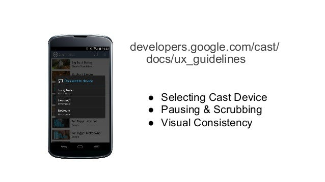 Implementing cast in android