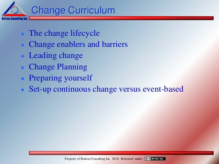 implementing change 3 essay Implementing strategic change in a health care system: the importance of leadership and change readiness david f caldwell jennifer chatman charles a o'reilly iii.