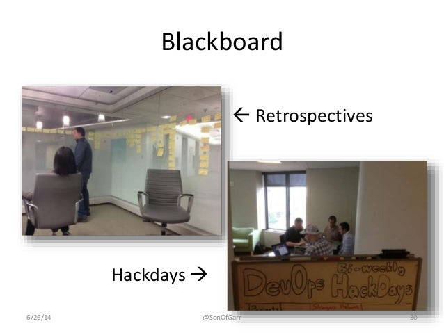 Blackboard   Retrospectives  Hackdays   6/26/14 @SonOfGarr 30