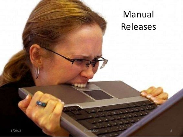 Manual  Releases  6/26/14 @SonOfGarr 5