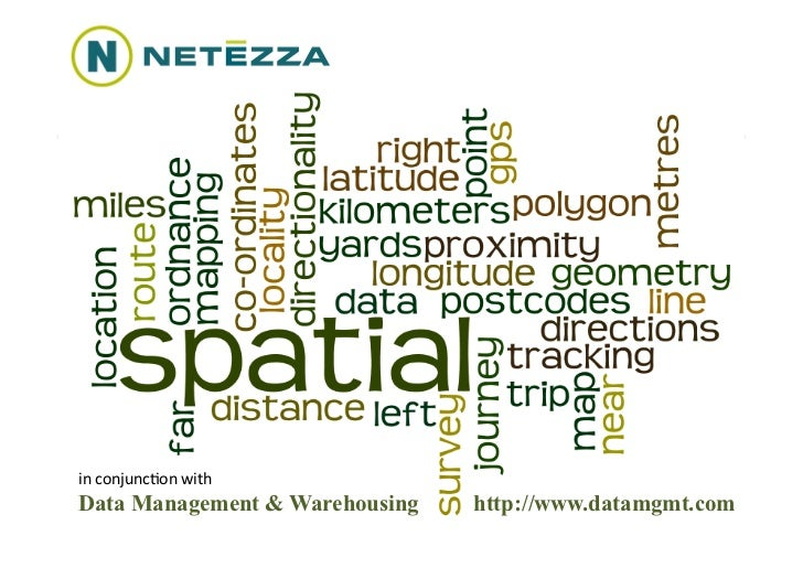 in	  conjunc(on	  with	  Data Management & Warehousing   http://www.datamgmt.com