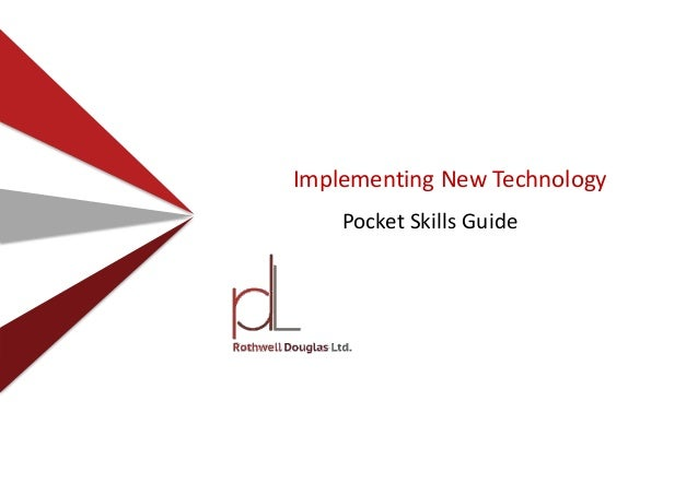 Implementing New Technology Pocket Skills Guide