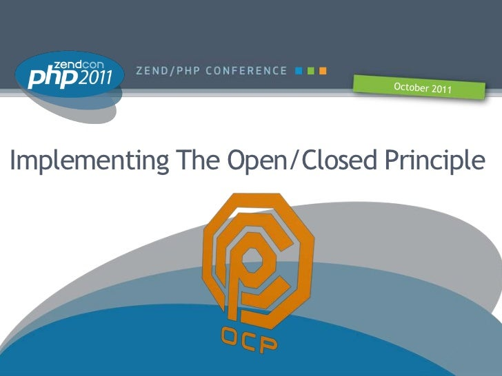 Implementing The Open/Closed Principle