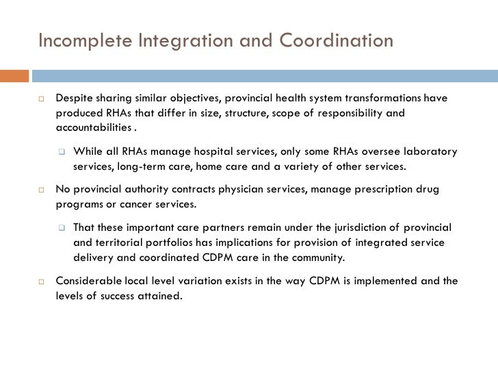 implementing the chronic disease management framework shared care 14