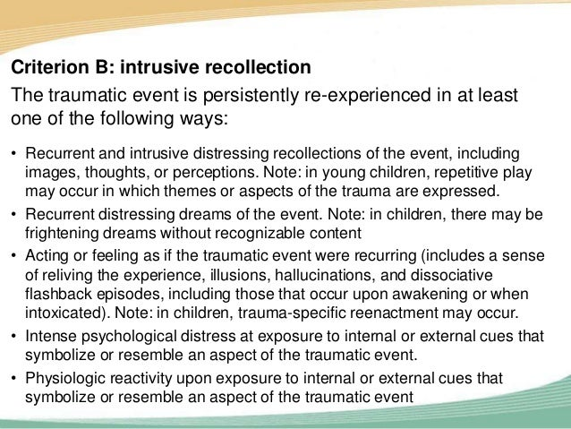 cognitive behavioral therapy and traumatic event A minimally studied area is whether treatment of trauma-related sequelae   assault was defined as a completed experience of rape (oral, anal, or vaginal) in .