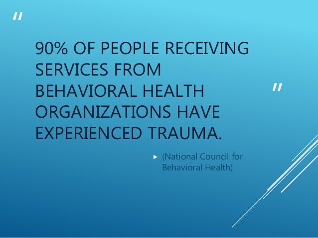 Implementing Trauma Informed Care In Christian Counseling