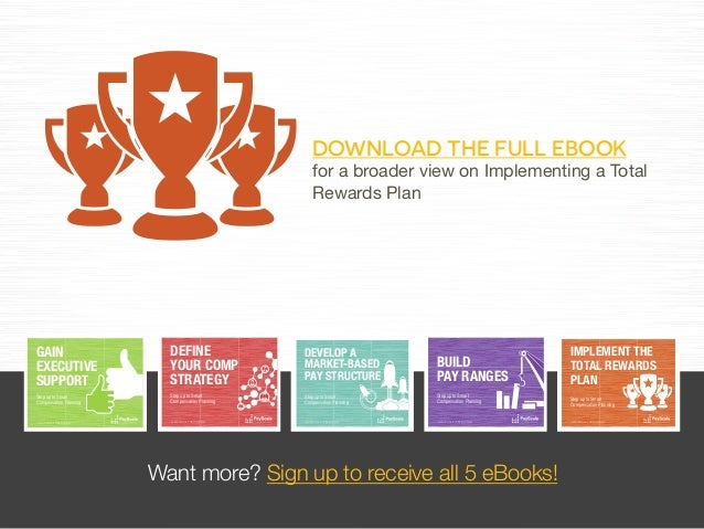 implement the total rewards plan  ebook sneak peak