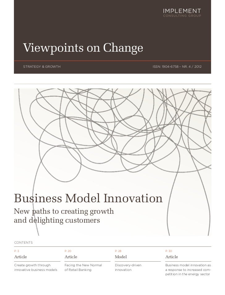 Viewpoints on Change       STRATEGY & GROWTH                                                ISSN: 1904-6758 – NR. 4 / 2012...
