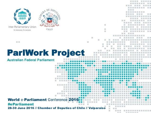 Day 3: Innovation in parliaments #3, Mr  Ian McKenzie