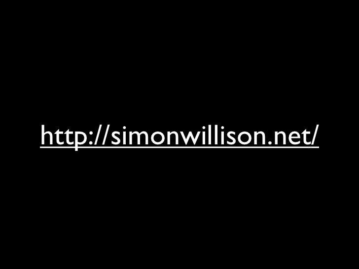 http://simonwillison.net/