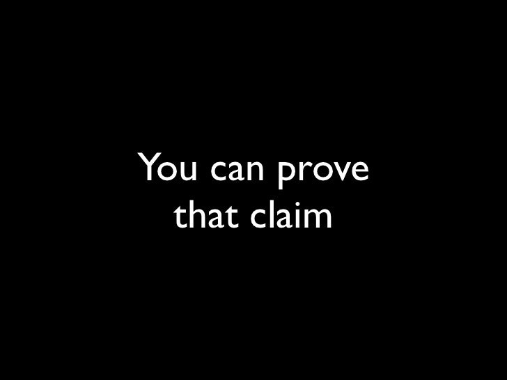 You can prove   that claim