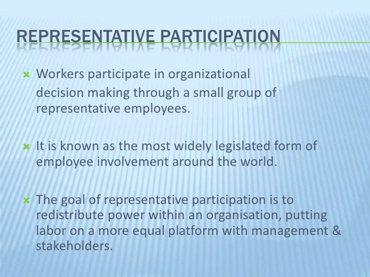 power distance on employee involvement and participation Chapter 3 employee involvement and participation: contemporary theory and practice descriptions employee involvement (ei) slideshow 5494092 by corina.