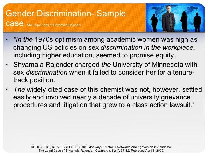 Title vii age and sex discrimination
