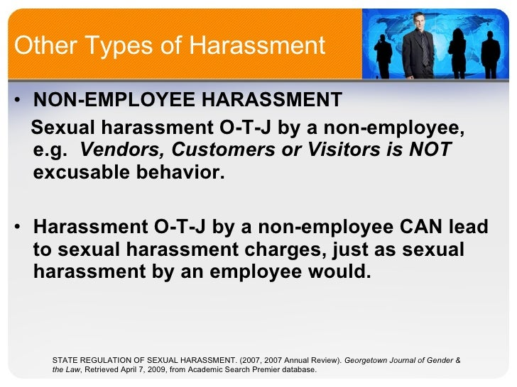 Sexual harassment title vii civil rights