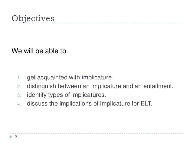 Implicature Slide 2