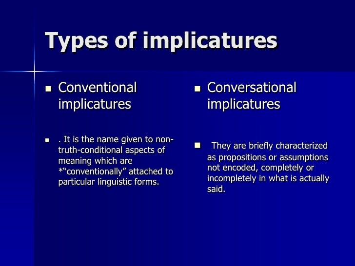 Implicatures Slide 2