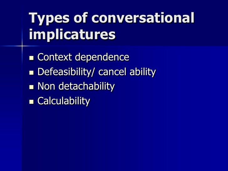 Implicatures Slide 3