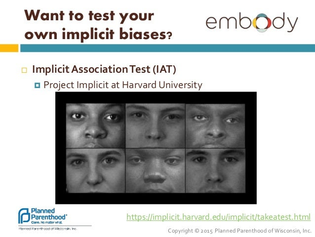 Implicit association test sexuality and reproduction