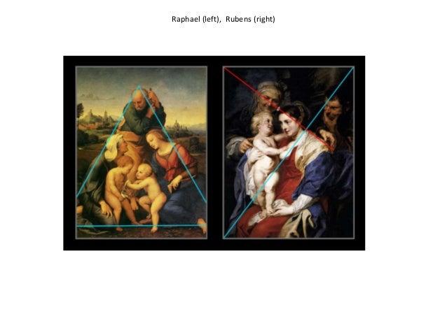 Raphael (left), Rubens (right)
