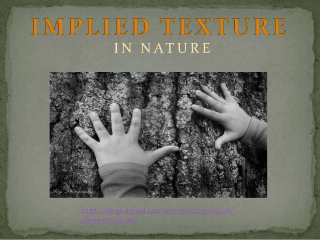 Implied texture powerpoint
