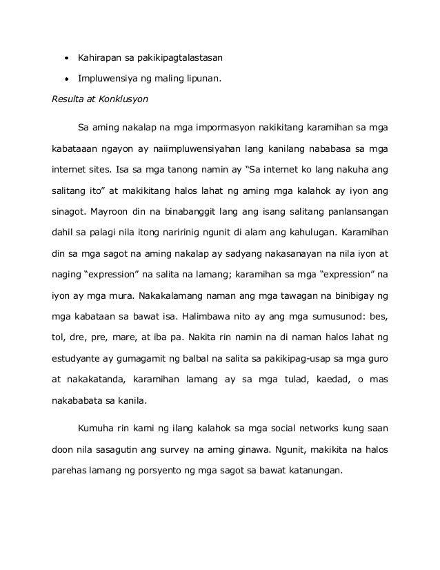 essay tungkol sa wikang pambansa