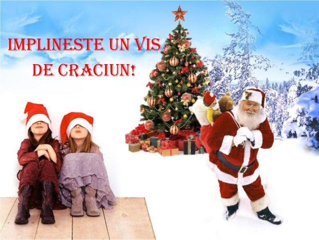 IMPLINESTE UN VIS   DE CRACIUN!