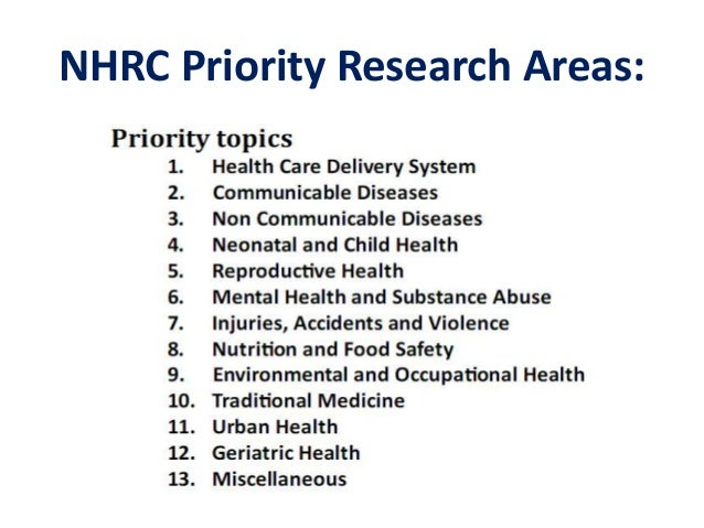 research topics on medicine