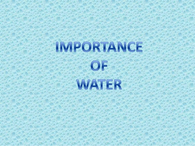 WATERWater is an important natural resource which is essential forall living beings.It is essential for the existence an...