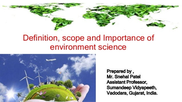 scope of environment