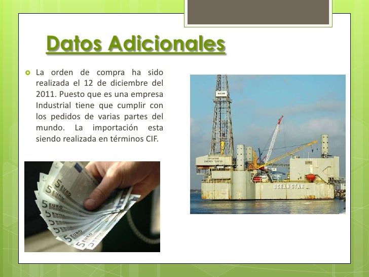  El embarque llega el 07/01/2012 de Arica. Se emite la  DUA (DOCUMENTO UNICO ADMINISTRATIVO) después de  3 días de su lle...
