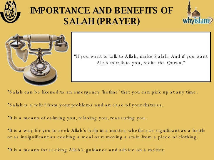 Importance and Benefits of Islamic Prayer