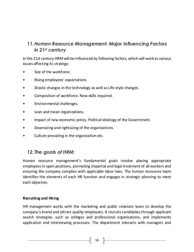 literature review on strategic human resource management
