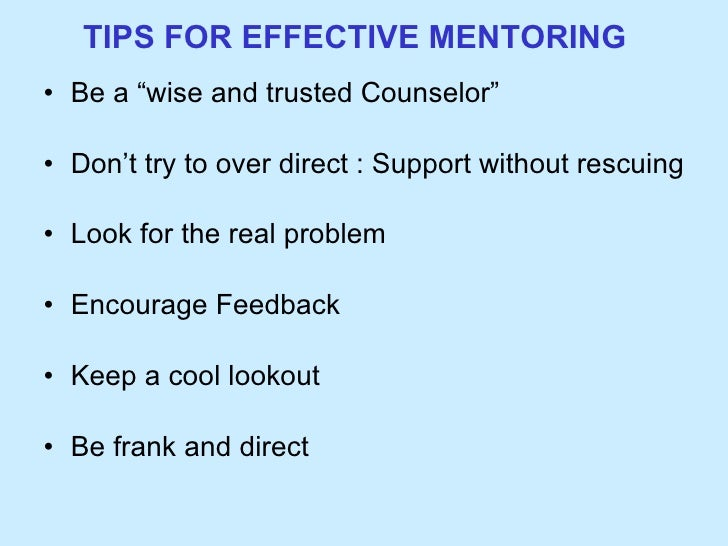 importance of mentoring Benefits of workplace mentoring workplace mentoring programs help employees do the right thing by exposing them to senior employees that know how to do the right thing.