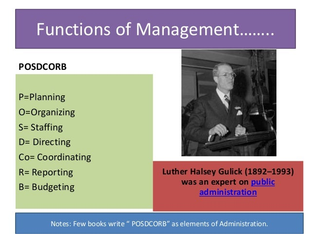 important functions of management These reports are generally directed to the managers of a business, rather than  to any external entities, such as shareholders or lenders the functions of.