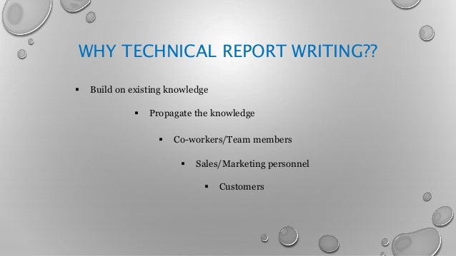 important uses of report writing