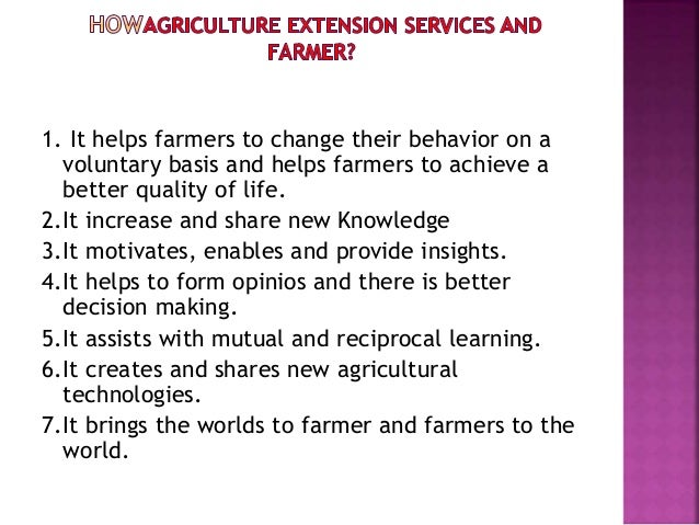 7 importance of agriculture