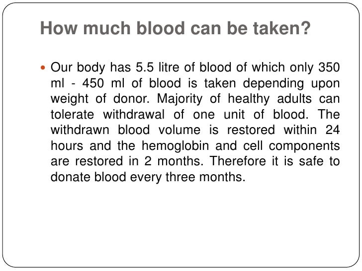 the importance of donating blood Conversations about the need for blood donation in south africa has been spoken of for many years and according to the south african national blood.