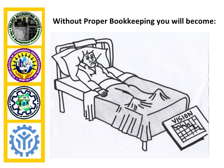 Without Proper Bookkeeping you will become: