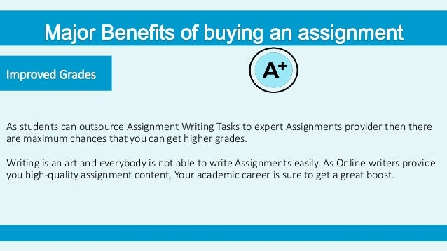 buying assignments online