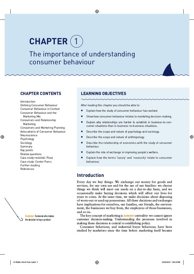 Importance of Consumer Behavior 2