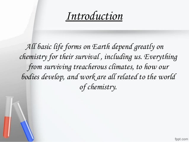 essays on importance of chemistry in our daily life