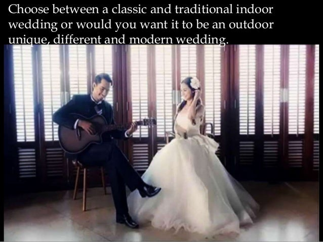 Importance of choosing the right wedding songs