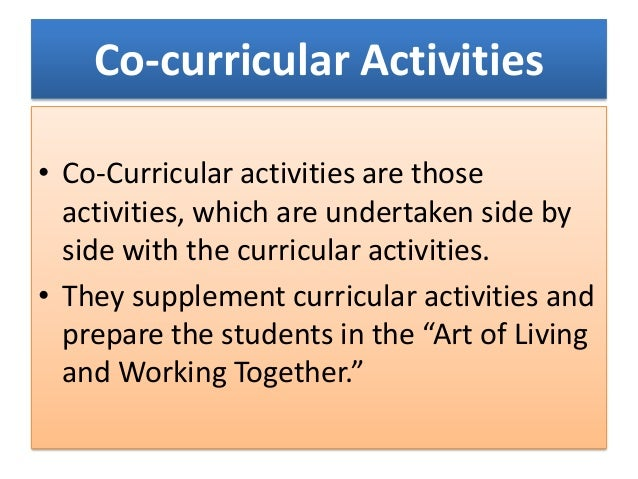 Essay On Extra Co-curricular Activities In Singapore - image 3