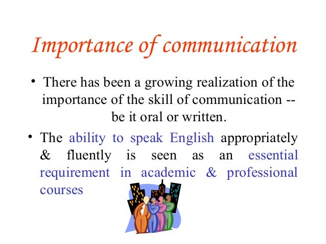 the role of communication essay The role of language in communication the role of language is.