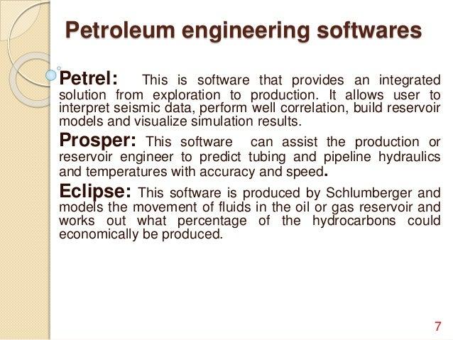 Petroleum Engineering   Duties Of A Petroleum Engineer