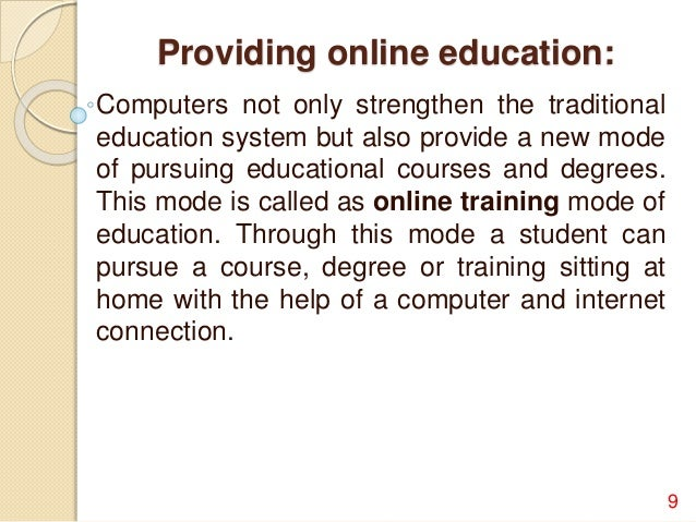 essays on computers in education In this essay, we begin by citing and summarizing some of the arguments given in favor of the use of computers by children and in education then we argue against them using some opinions which we consider to be non-standard.